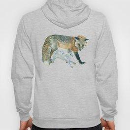 Fox and Hare Hoody