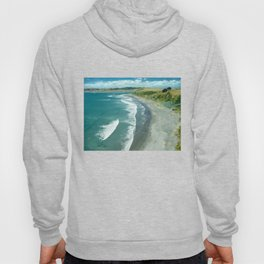 Raglan beach, New Zealand Hoody