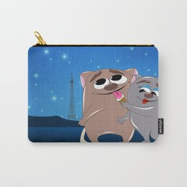The Hippolyte cat Part#17 (Love in Paris) Carry-All Pouch