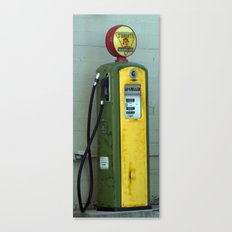 Gas Pump Canvas Print