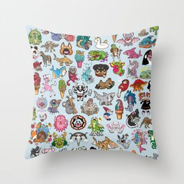 The Ultimate Collection Throw Pillow