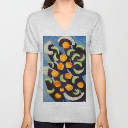 Soup Abstracted Unisex V-Neck