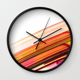 Fast Forward Abstract Artwork Wall Clock