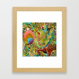 The Birden Framed Art Print