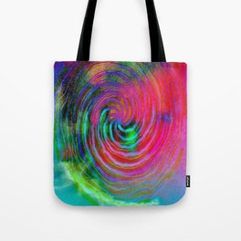 Colorful galaxy Tote Bag
