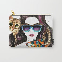 Kenzo Girl Carry-All Pouch