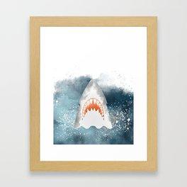 Da-Dum... Da-Dum... Framed Art Print