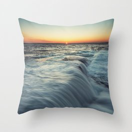 Kiss the Horizon Throw Pillow