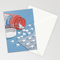 Likes pills Stationery Cards