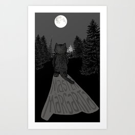 Behemoth the Cat (Master and Margarita) Art Print