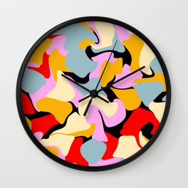 Liquified 02 Wall Clock
