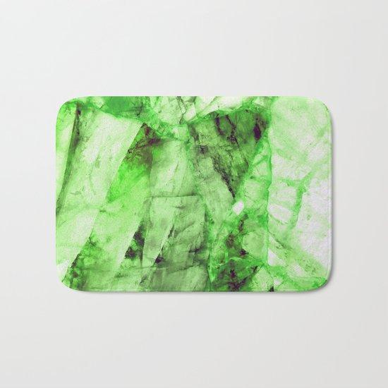 Green crystal Bath Mat