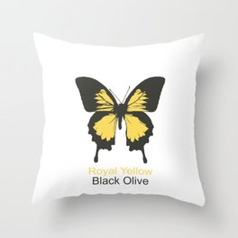 Ulysses Butterfly 6 Throw Pillow