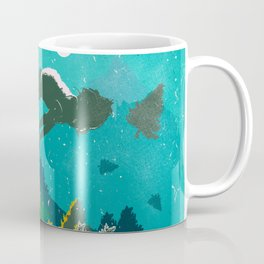FLOATING FOREST BLUE Coffee Mug