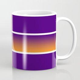 Team Colors 6....Orange,purple Coffee Mug