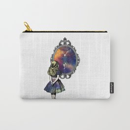 Follow The White Rabbit - Alice In Wonderland Carry-All Pouch