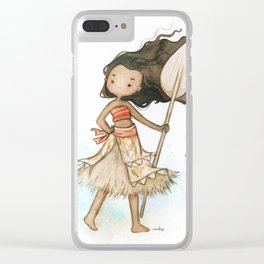 Moana Clear iPhone Case