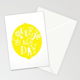Squeeze Orange Stationery Cards