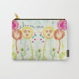Bloom True by Terri Conrad Designs Carry-All Pouch