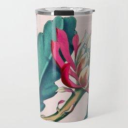 Flowering cactus IV Travel Mug