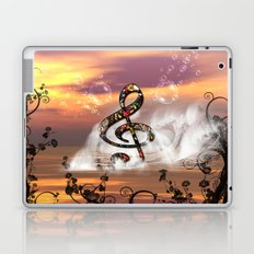 Colorful clef Laptop & iPad Skin