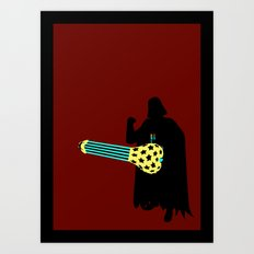 American Exceptionalism Star Wars - Darth Vader Art Print