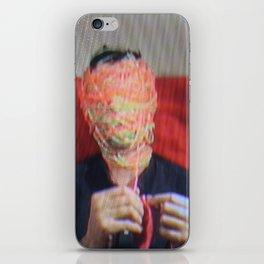Tv Head iPhone Skin