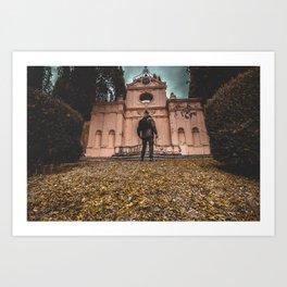 Villa fidelia Art Print