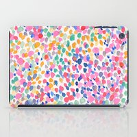 pastel iPad Cases featuring Lighthearted (Pastel) by Jacqueline Maldonado