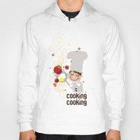 cooking Hoodies featuring Cooking Papa by inkdesigner
