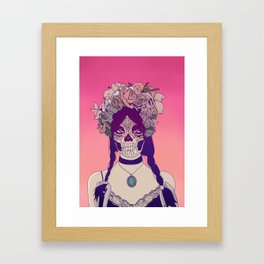 Lady Fy Framed Art Print