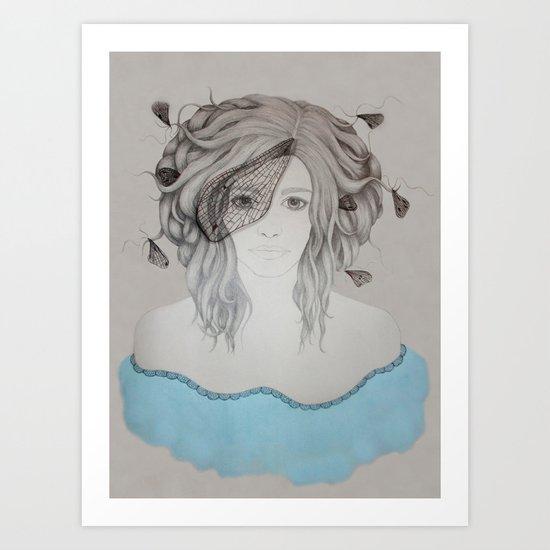 Mayfly Art Print