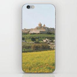 Spring at Mdina, Malta iPhone Skin