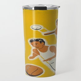Vintage poster - Athletics Travel Mug
