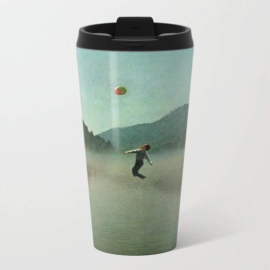 Water Sports Metal Travel Mug