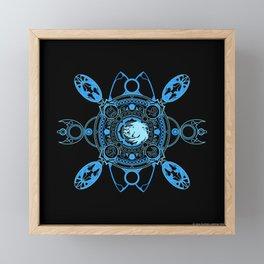 Bahamut fayth Framed Mini Art Print