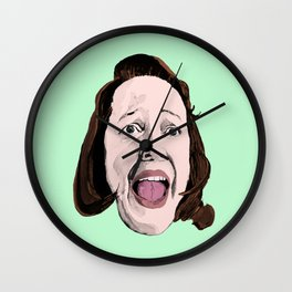 Crazy Annie Wilkes - Misery (Green) Wall Clock