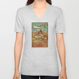 AFTERNOON PSYCHEDELIA Unisex V-Neck