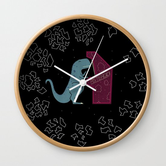 Irony Wall Clock