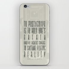 To photograph... iPhone & iPod Skin