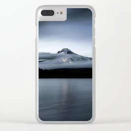 Mountain Moment II Clear iPhone Case