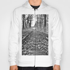 tracks in the forest Hoody