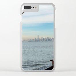 Staten Island Ferry Barberi Clear iPhone Case