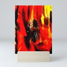 Mohnblüte Mini Art Print