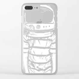 Astronaut Kid Clear iPhone Case