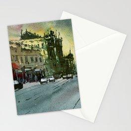 Melbourne Street scene - Brunswick Street Stationery Cards