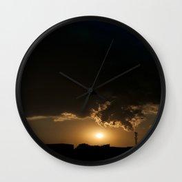 Communicative pollution Wall Clock