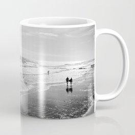 Looking for Waves at Folly Coffee Mug