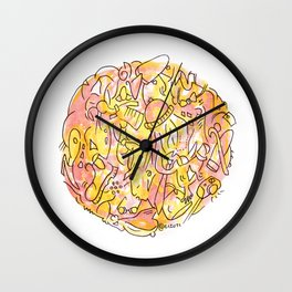 Fashion Blogger Wall Clock