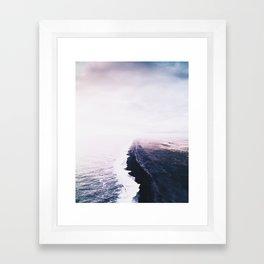 The coast Framed Art Print